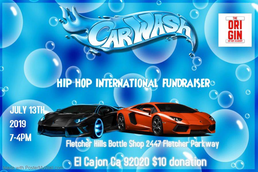 Origin Hip Hop International Car Wash Fundraiser @ Fletcher Hills Bottleshop