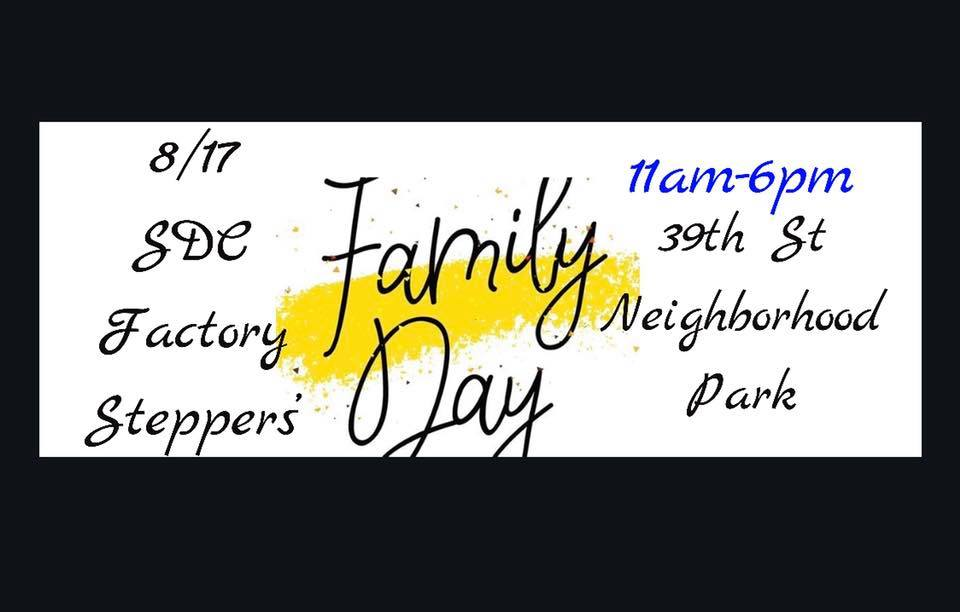 SDC Stepper's Family Day @ 39Th Street Park