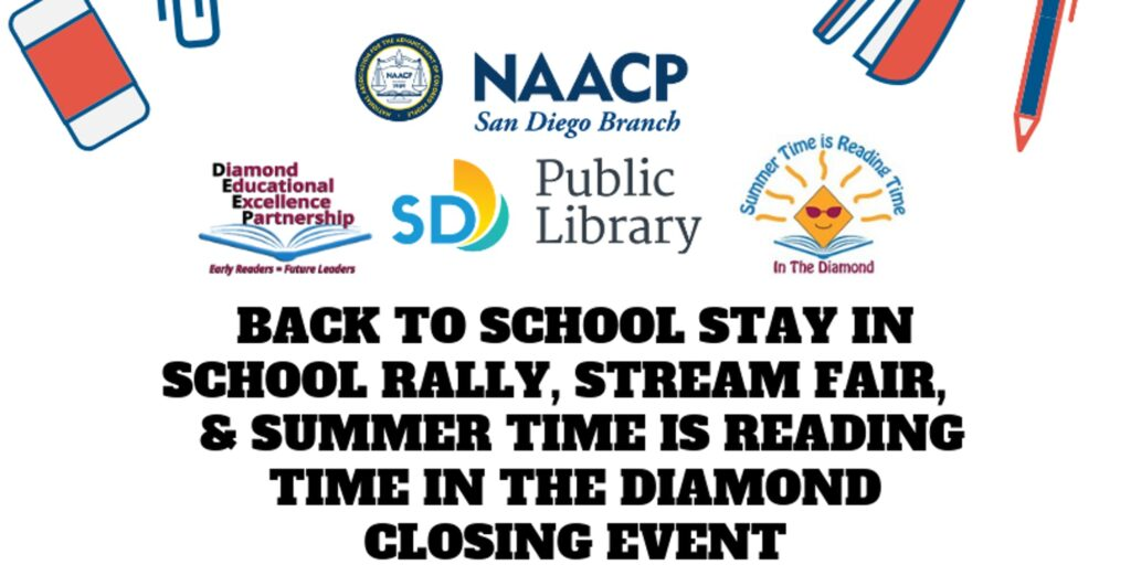 Back to School Stay in School Rally & Fair @ Valencia Park/Malcolm X Library