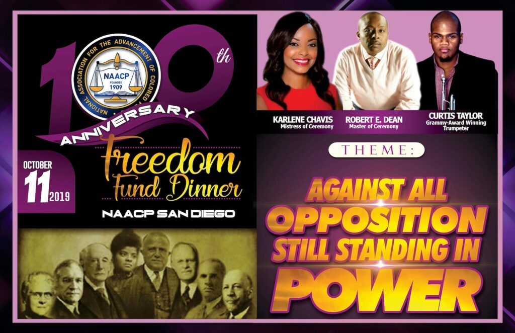 2019 Freedom Fund Dinner @ NAACP San Diego Branch - Authorized