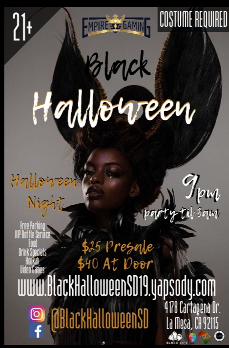 Black Halloween SD @ Empire Gaming community lounge